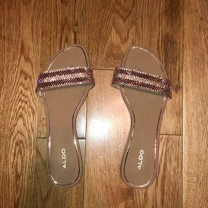 Aldo Rose Colored sandals